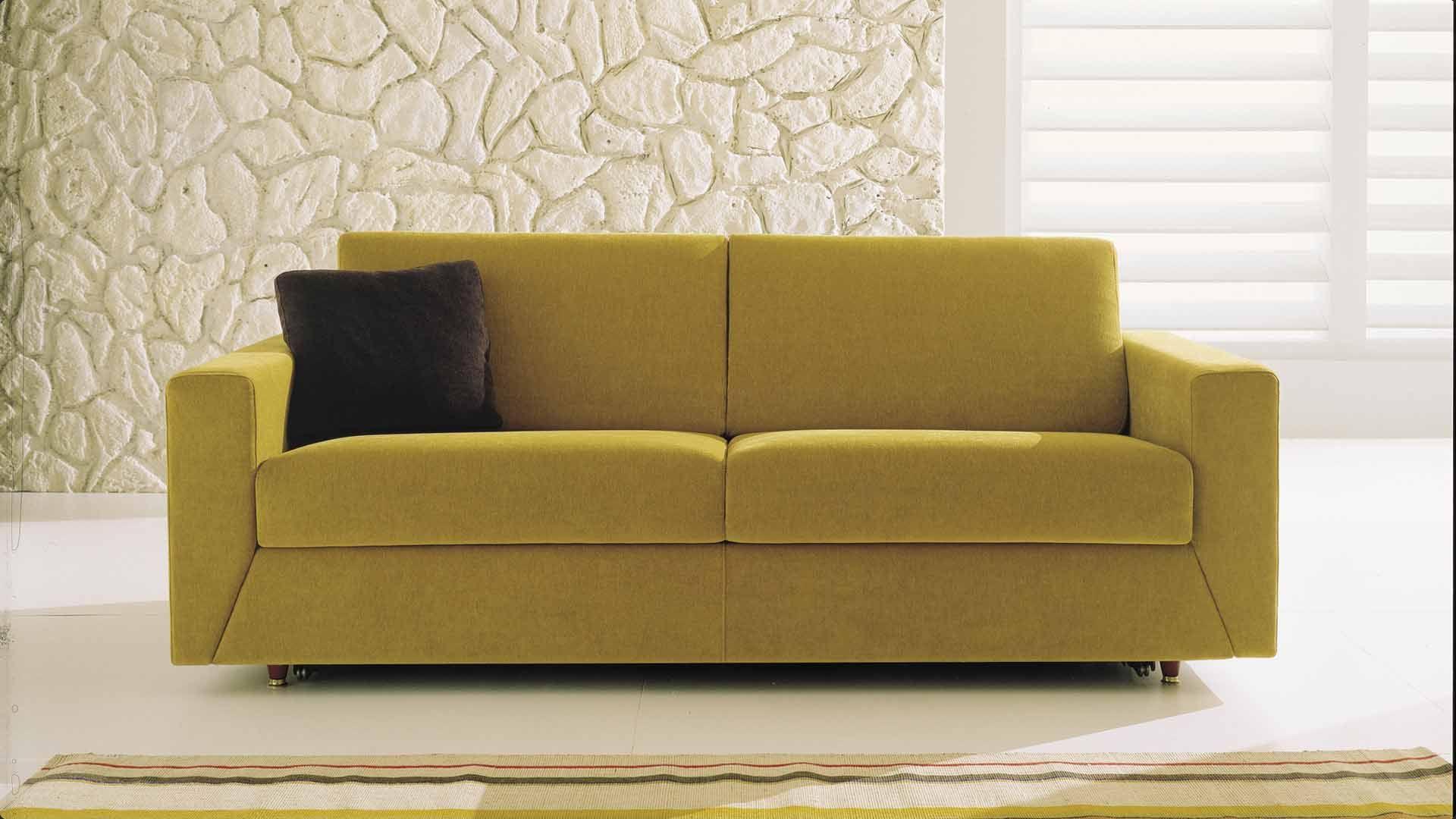 Fabbrica divani letto a lissone so form divani e letti - Divano color senape ...